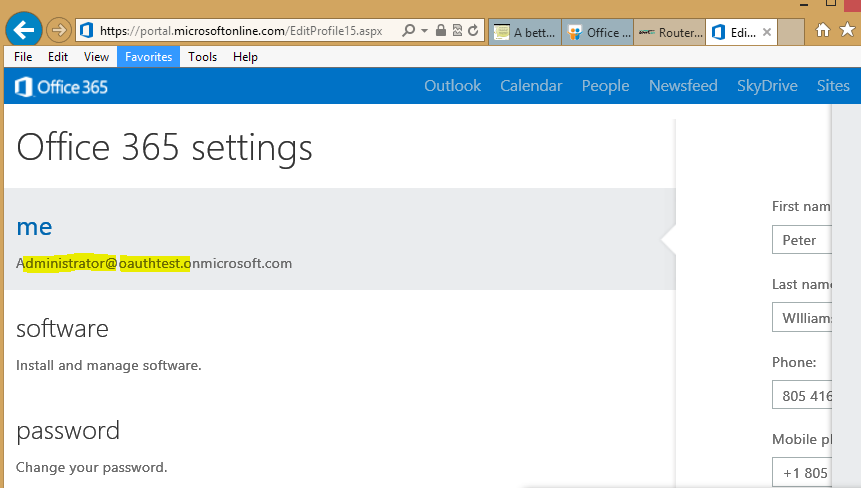 Aiming for PingFederate to Office 365 Exchange APIs, via OAUTH