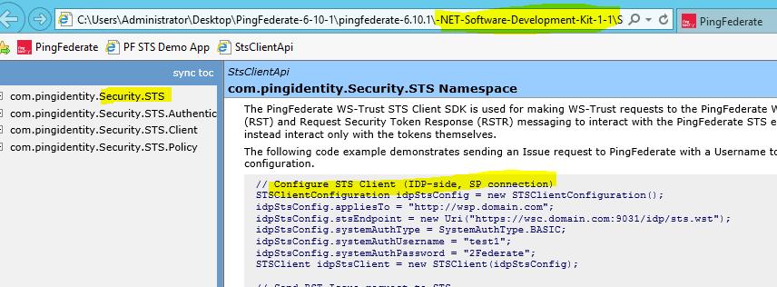 PingFederate 6 10 1 6 ws-trust username token trials