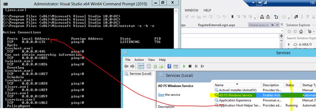 Windows Azure Cloud Emulator port 80/443 | Peter's ruminations